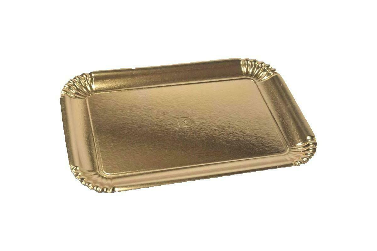 10 Kg Vassoi Cartone Oro N. 6S=7