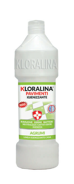 750 ml Kloralina Igienizzante Pavimenti Agrumi