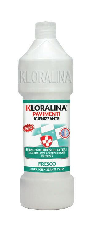 750 ml Kloralina Igienizzante Pavimenti Fresco