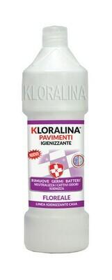 750 ml Kloralina Igienizzante Pavimenti Floreale
