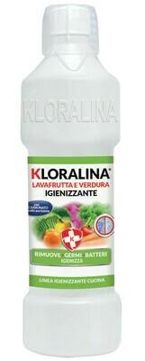 1 Litro Kloralina Lava Frutta e Verdura Igienizzante