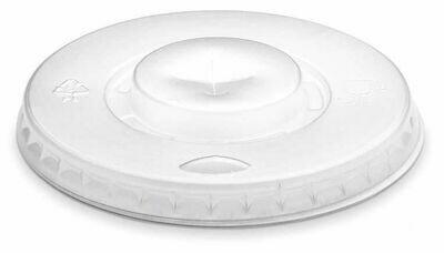100 Coperchi Plastica per Bicchiere 200/250 ml Bianco