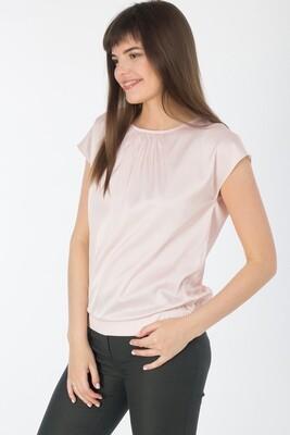 Блузка 1840 шелк-шифон Армани пудровый
