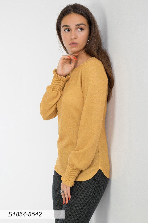 Блузка 1854 тр-ж Верона золотисто-желт