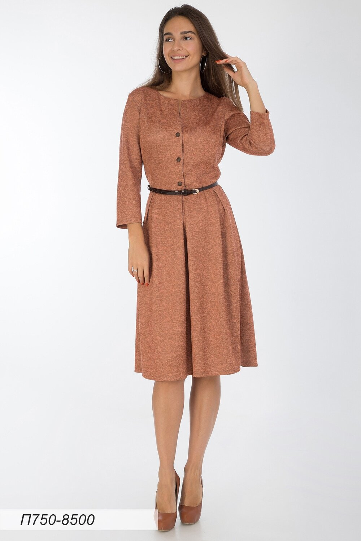 Платье 750 тр-ж Сандра абрикосовый