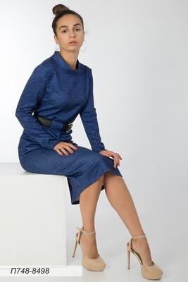 Платье 748 тр-ж Сандра индиго