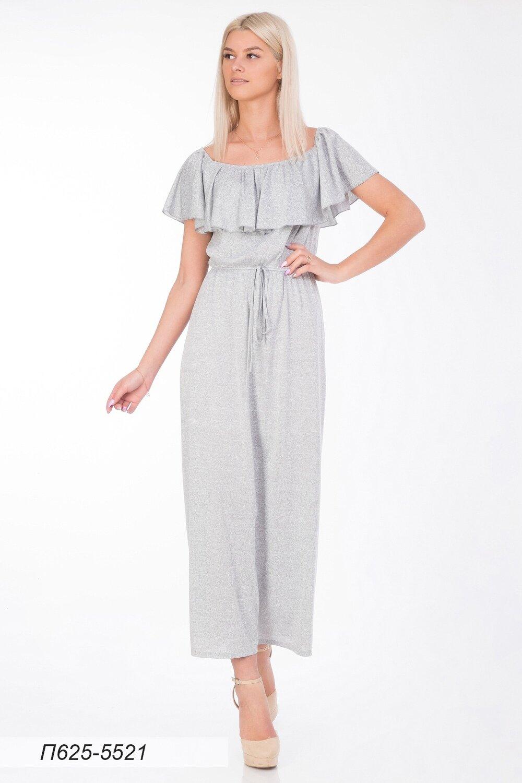 Платье 625 тр-ж Юнона светло-серый
