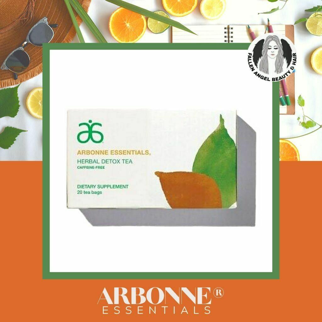 Arbonne Essentials Herbal Detox Tea Caffeine Free