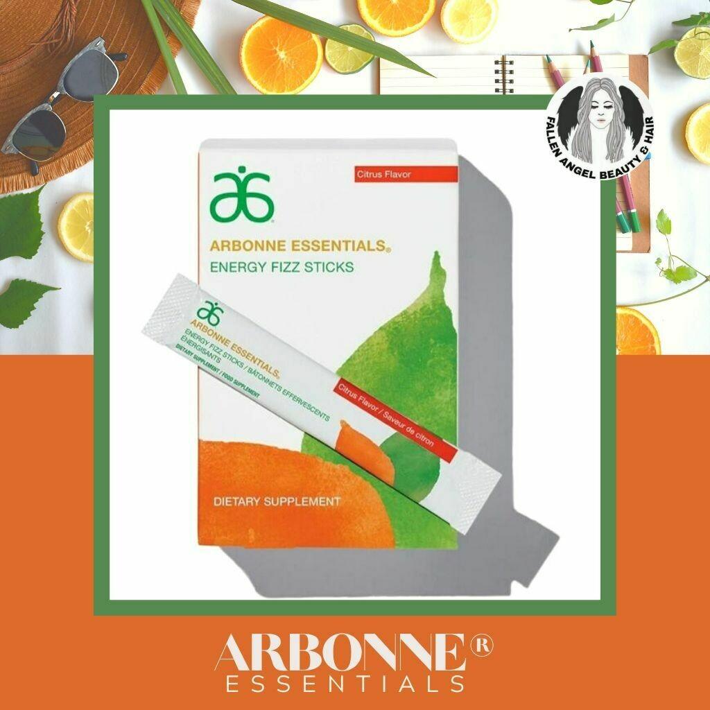 Arbonne Essentials Energy Fizz Sticks Citrus Flavour