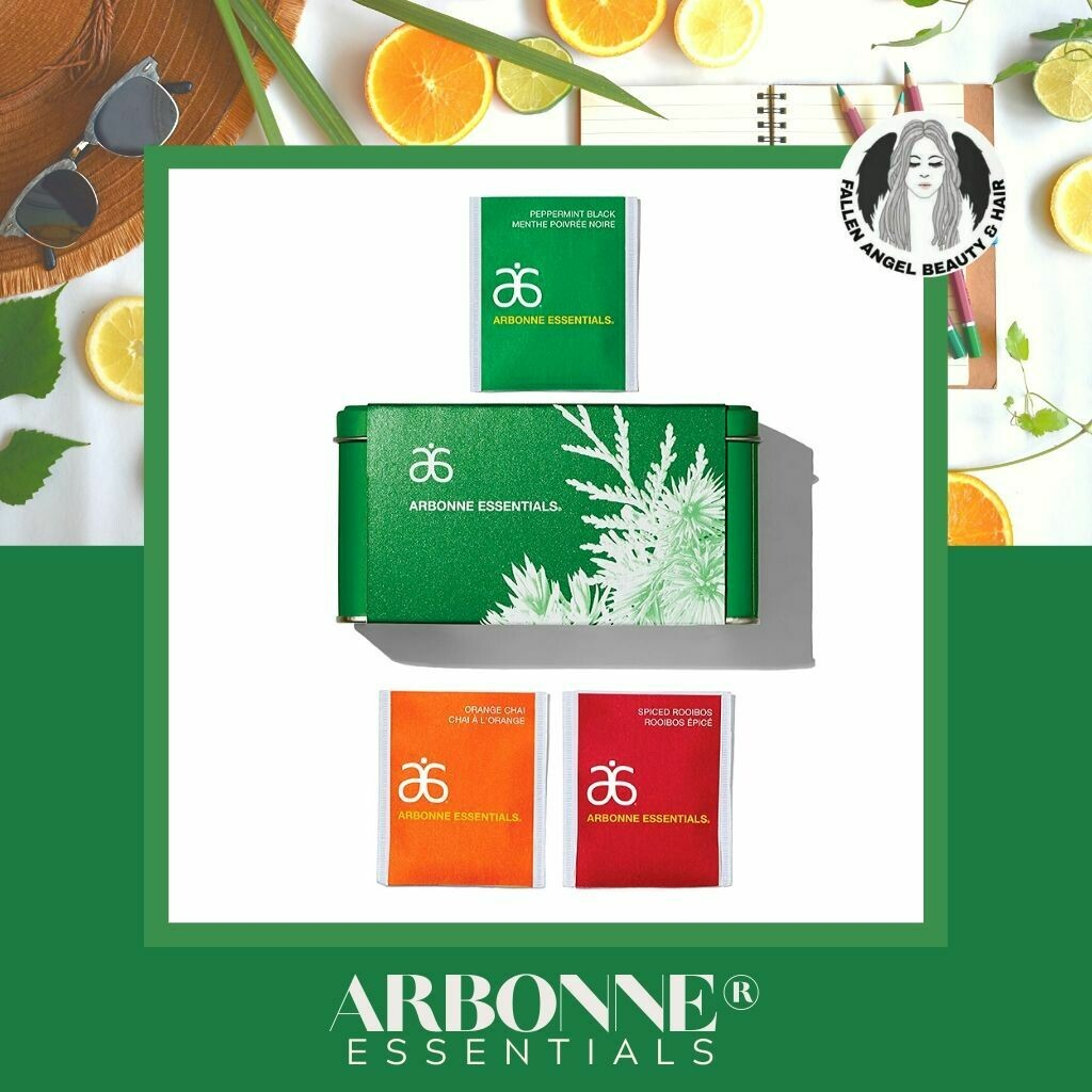 Arbonne Essentials 30 Days of Holiday Infusion Tea Tin
