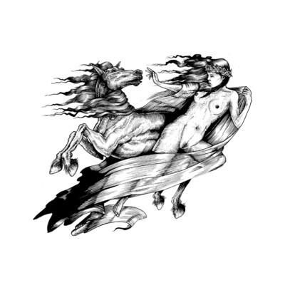 """Equine"" print"