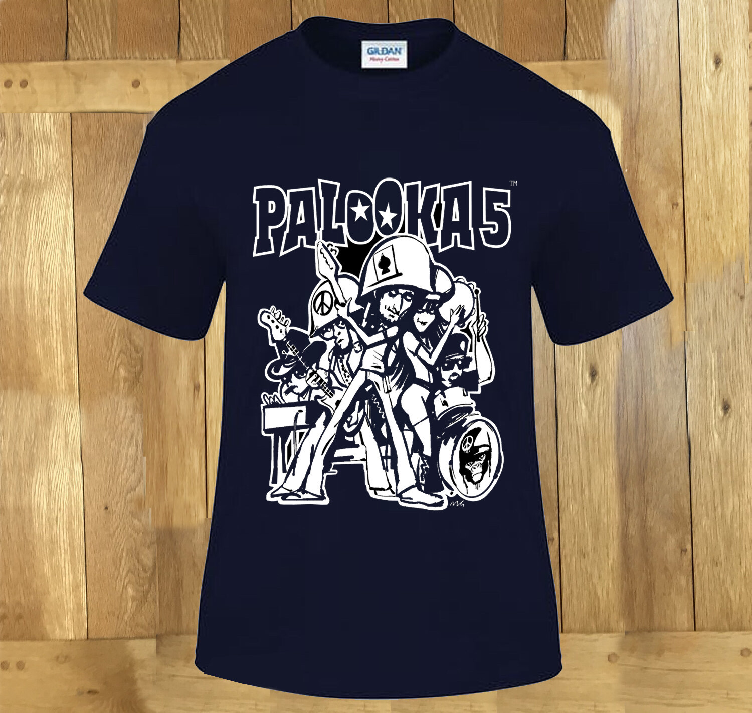NEW PALOOKA LIMITED EDITION TS MEDIUM