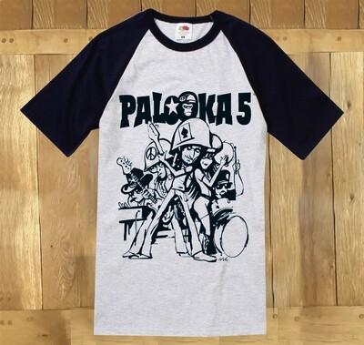 Palooka 5 Limited Edition Raglan TS Black and Grey - XLARGE