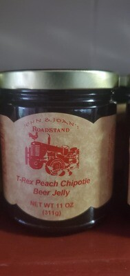 T-Rex Peach Chipotle Beer Jelly (11 oz)