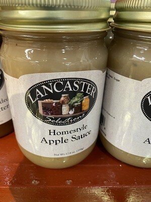 Homestyle Lancaster County Applesauce 12 oz