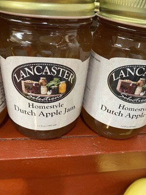 Homestyle Dutch Apple Jam 12 oz.
