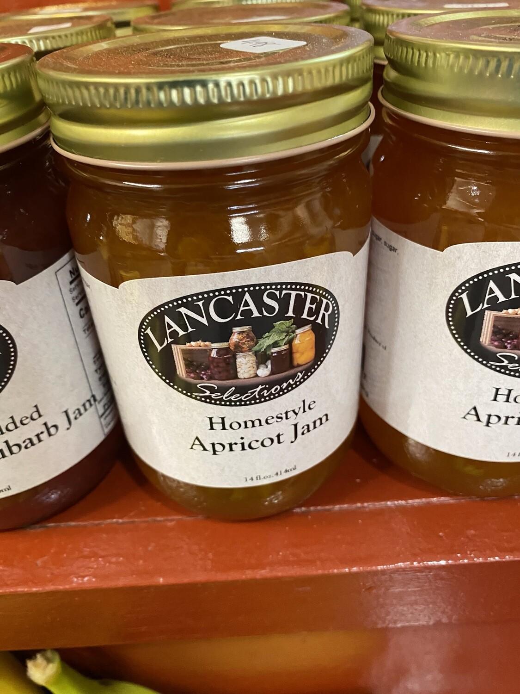Homestyle Apricot Jam 12 oz.
