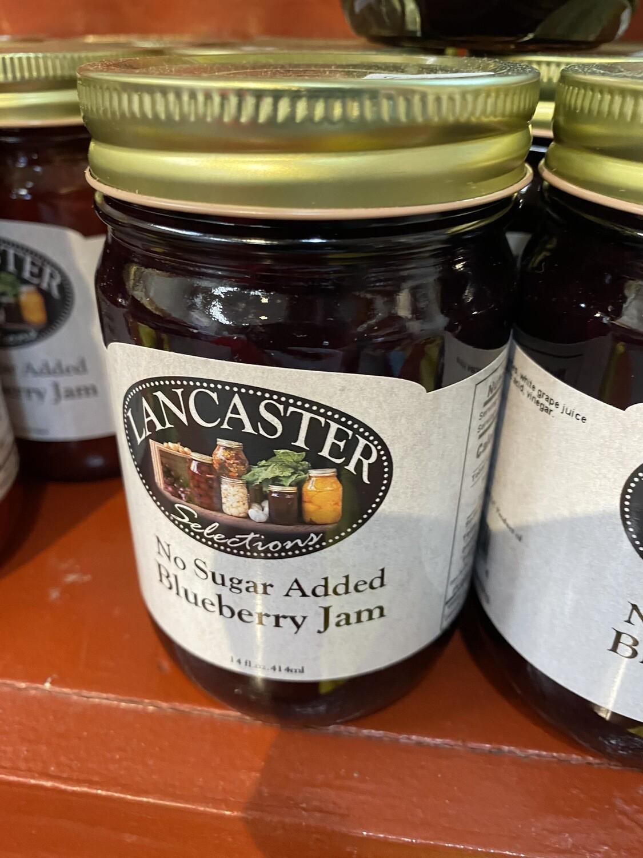 Blueberry Jam No Sugar Added 12 oz.