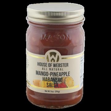14 oz Pineapple Mango Habanero Salsa