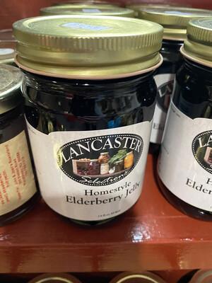 12 oz Elderberry Jam