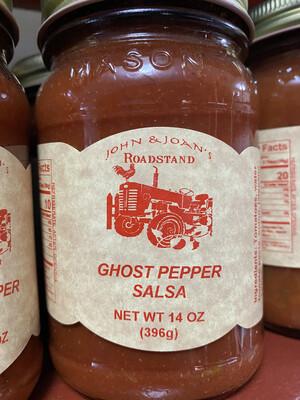 14 0z Ghost Pepper Salsa