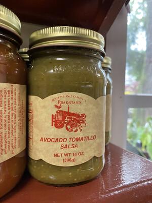 14 oz Avocado Tamatillo Salsa