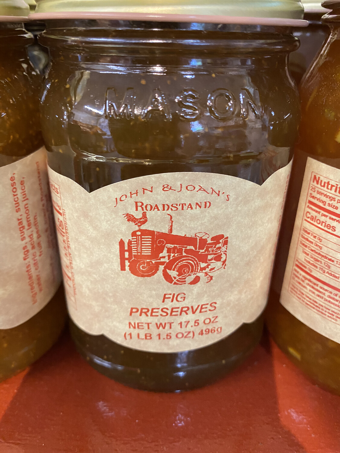 Fig Preserves 17.5 oz