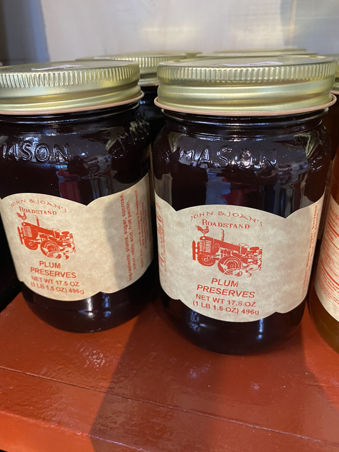 Plum Preserves 17.5 oz