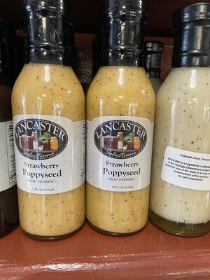 Strawberry Poppy Seed Dressing 12 oz