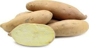 Jersey White Sweet Potatoes