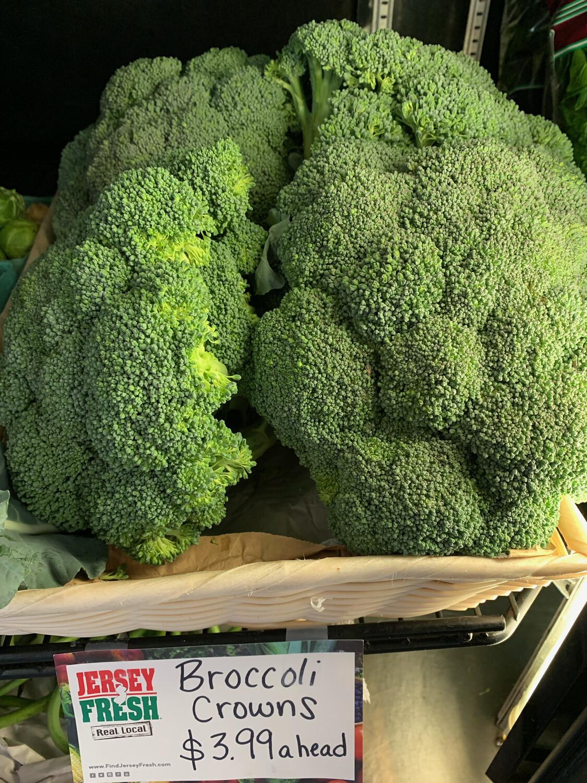 Jersey Broccoli (per large head)
