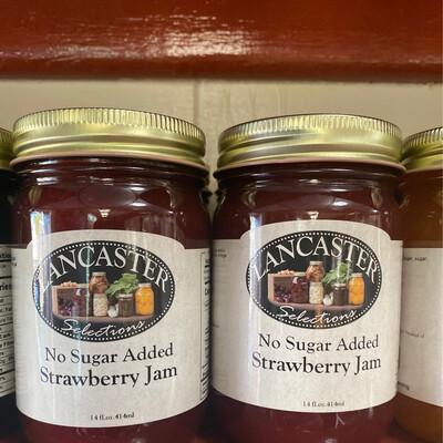 Strawberry Jam  No Sugar Added 14 oz