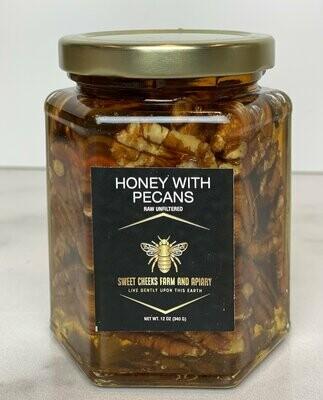Honey with Pecans (12 oz.)