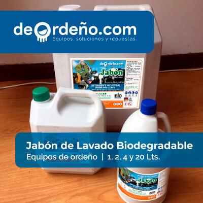 Jabón de Lavado Biodegradable para Equipos de Ordeño