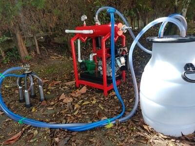 Equipo de Ordeño 1 puesto - Eléctrico o Gasolina -  Eco Milk