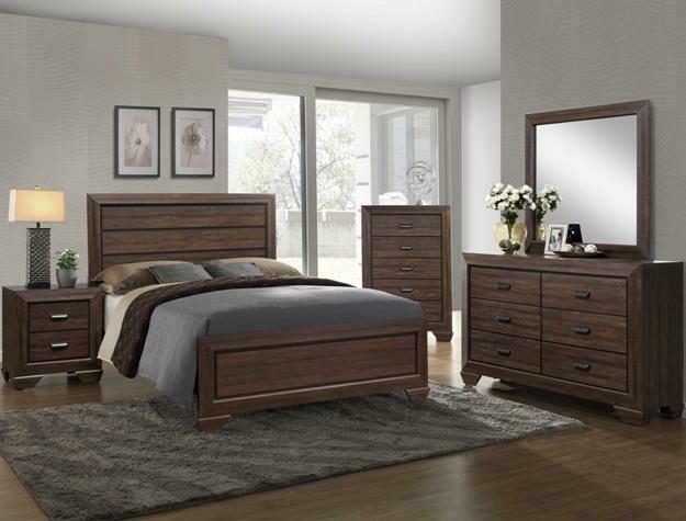 Chocolate Full Bedroom Set