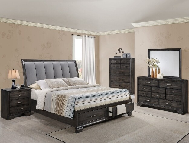James Queen Bedroom Set