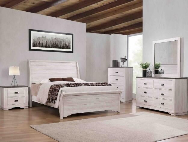 Coral Queen Bedroom Set
