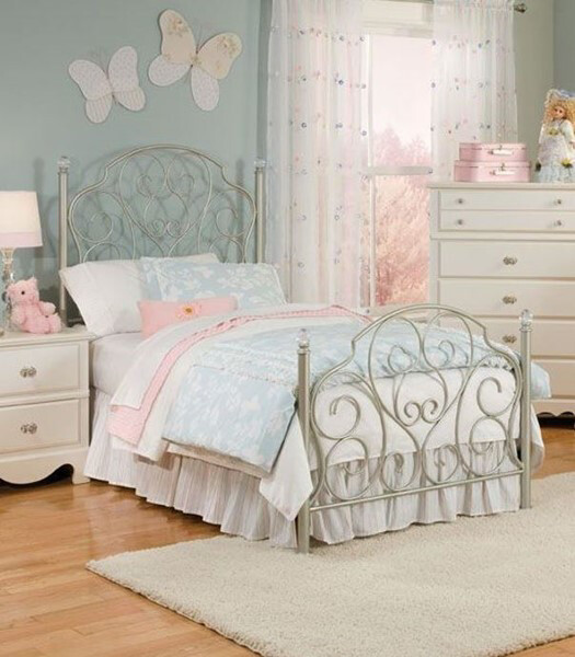 Twin Metal Bed Frame- Youth