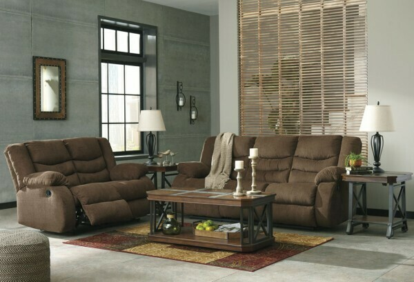 Tulip Reclining Sofa and Loveseat