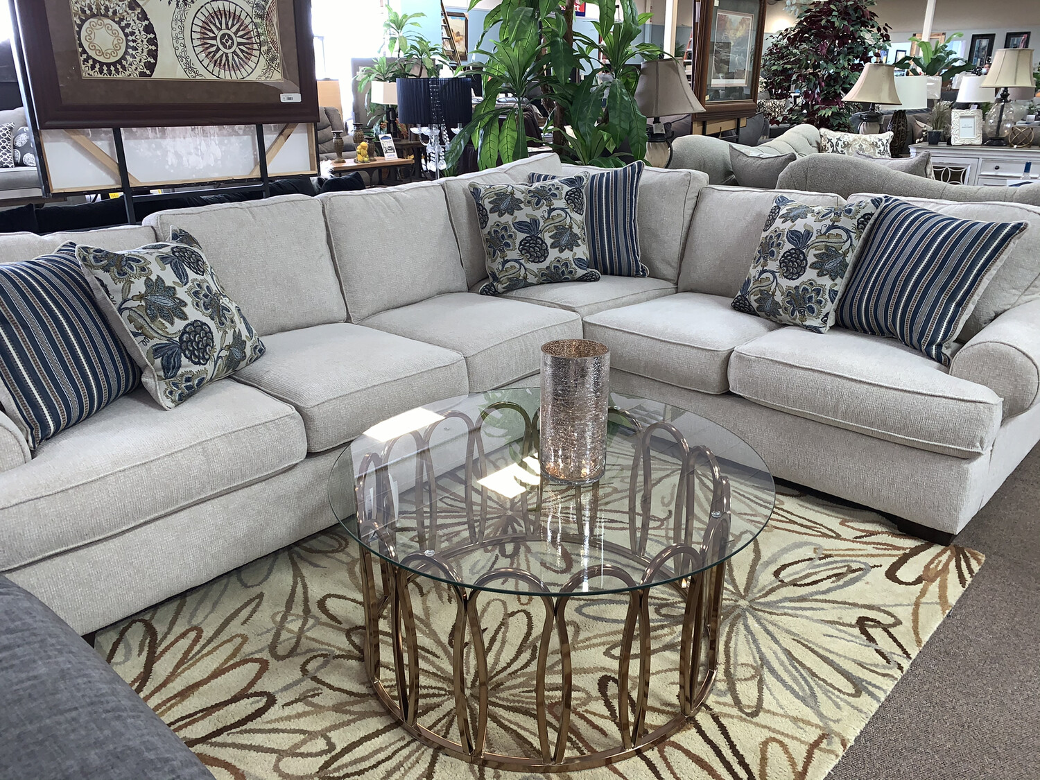 Angie Sectional- Beige