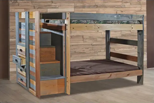 Rustic bunk Bed- Youth