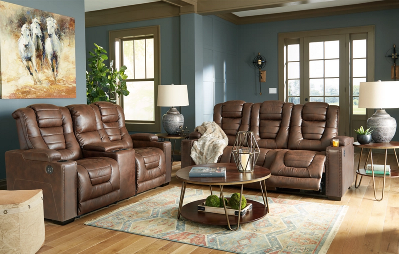 Thyme Power Reclining Living Room Set