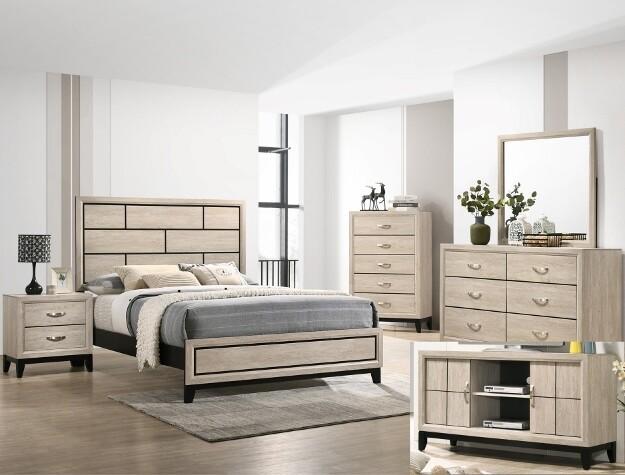 Akerson Bedroom Set- Queen