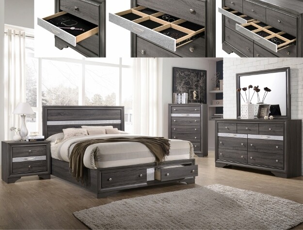 Regina Queen Bedroom Set