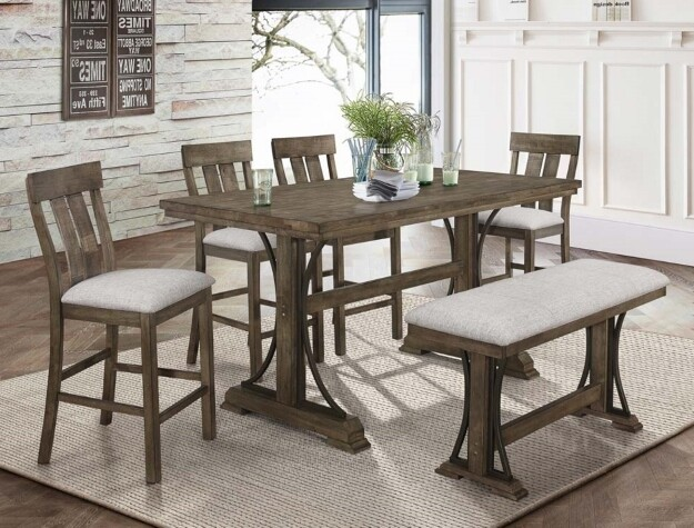 Quincy Dining Set- Counter Height