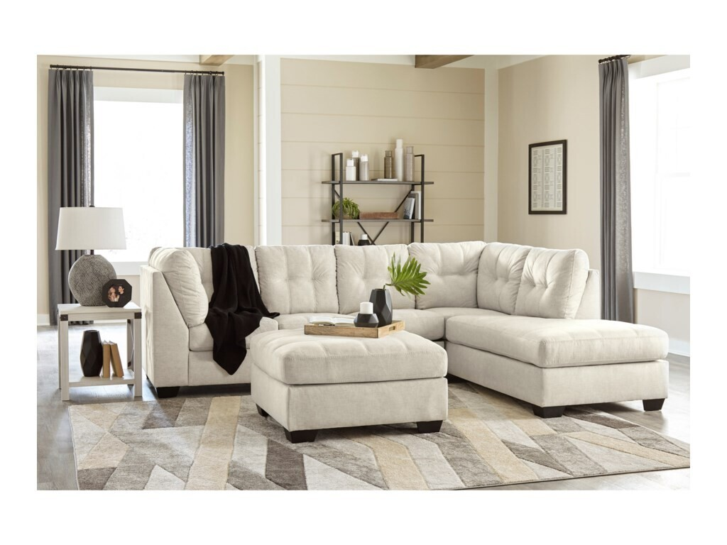 Maier sectional - Pearl