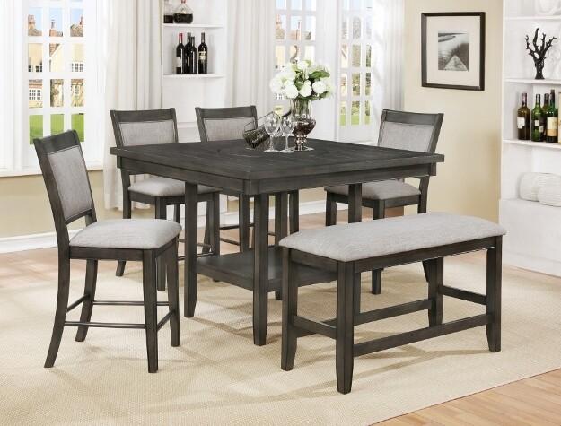 Fulton Dining Set - Grey