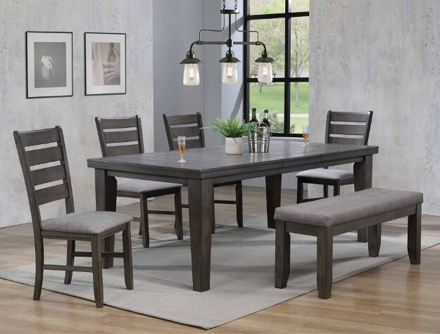 Barry Dining Set- Grey