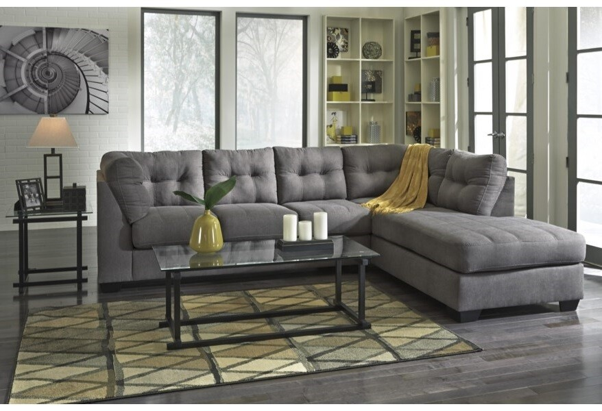 Maier sectional -Grey
